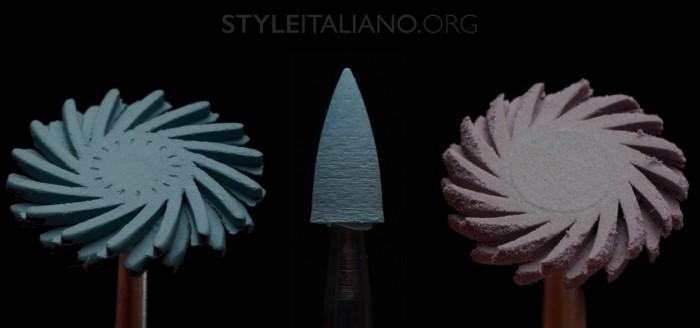 Шлифовальная головка круг и спираль
