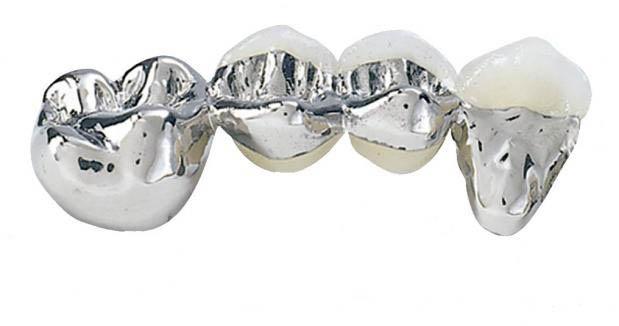 Серебряно палладиевый сплав в стоматологии