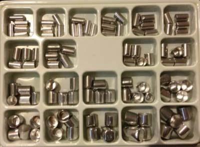 Стальные колпачки для штамповки