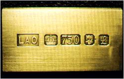 золота 750-й пробы